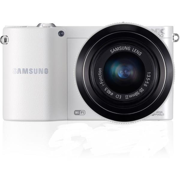 Samsung NX1100 Mirrorless White Camera 20-50mm