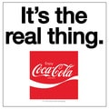 Occasions 'It's The Real Thing' Coke Coaster (Set of 4)