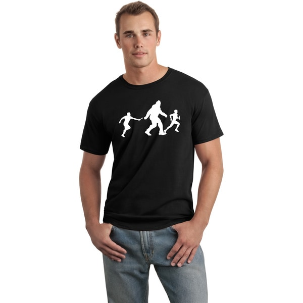 Men's 'Bigfoot Relay' Black Funny T-shirt