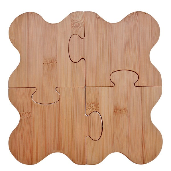 Puzzle Trivet/ Drink Coaster Set