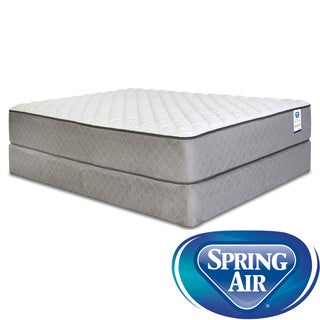 Spring Air Back Supporter Hayworth Firm King-size Mattress Set