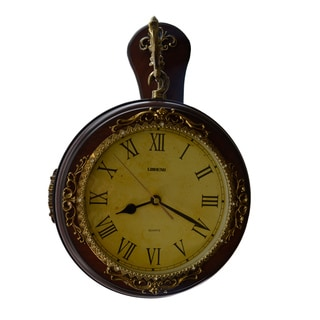 Antique Style Double-face Hanging Clock