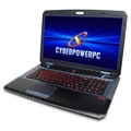 "CyberpowerPC FANGBOOK EVO HFX7-200 2.4GHz 8GB 750GB 17.3"" Gaming Laptop"