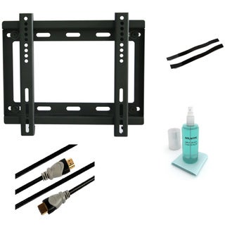 Atlantic Low Profile Fixed TV Wall Mount Kit