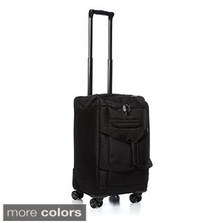 Delsey Luggage Helium X'Pert Lite 18-inch Carry-on Rolling Spinner Upright Duffel