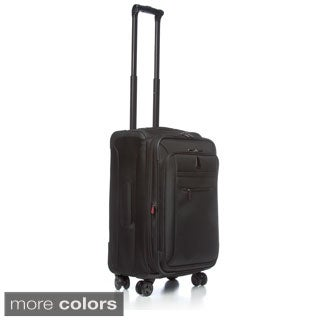 Delsey Luggage Helium X'Pert Lite 21-inch Carry On Expandable Spinner Suiter Trolley