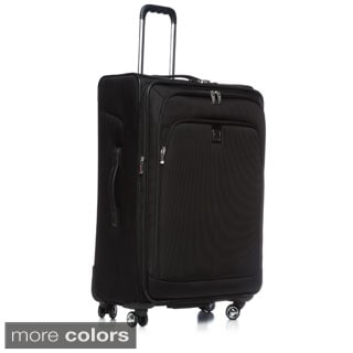 Delsey Luggage Helium X'Pert Lite 25-inch Expandable Medium Spinner Suiter Trolley
