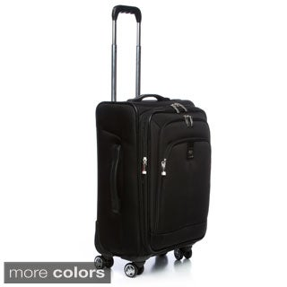 Delsey Luggage Helium 21-inch Ultimate Expandable Carry On Spinner Suiter Trolley Upright