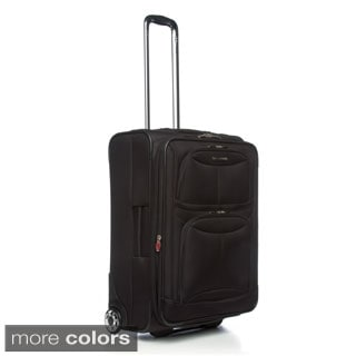 Delsey Luggage Helium Fusion 3.0 25-inch Expandable Suiter Trolley