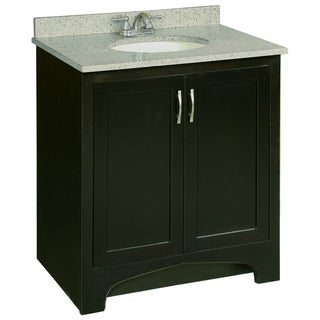 Design House 539593 Ventura Espresso Vanity Cabinet with 2-Doors, 30-Inches by 33.5-Inches