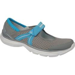 Women's Naturalizer Bzees Boardwalk Steel Grey Mesh/Blue Jewel Elastic