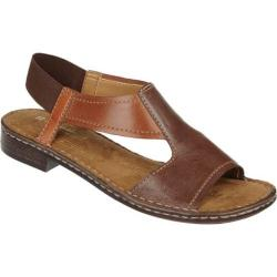 Women's Naturalizer Ringo Bridal Brown/Cognac/Bingo Tan Mirage Leather