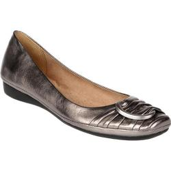 Women's Naturalizer Violette Pewter Metallic Foil Sheep Max Napa