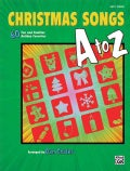 Christmas Songs A to Z: 60 Fun and Familiar Holiday Favorites (Easy Piano) (Paperback)