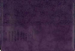 Bible Cover - Faith - Purple Luxleather - Large (General merchandise)