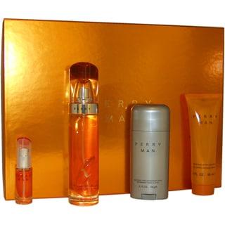 Perry Ellis Perry Men's 4-piece Fragrance Gift Set