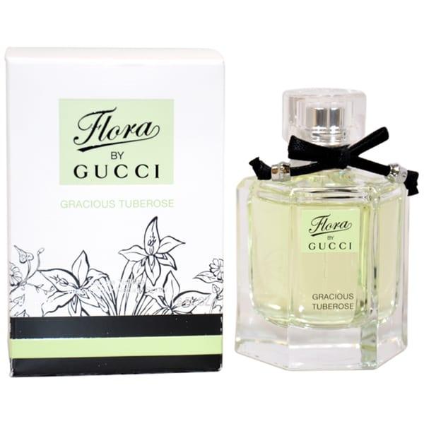 Gucci Flora by Gucci Gracious Tuberose Women's 1.6-ounce Eau de Toilette Spray