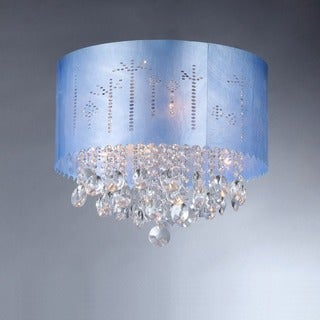 Rebecca 4-light Chrome Crystal Chandelier