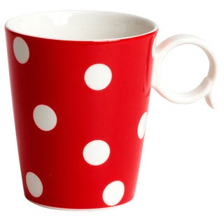 Red Vanilla Freshness Red (Set of 4 Mugs)