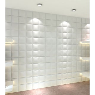 3D Contemporary Wall Panels Gesture Design (Set of 10) - Overstock ...