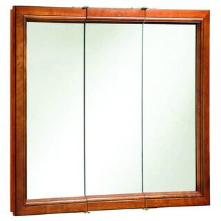 Design House 'Montclair' Chestnut Glaze 3-door Medicine Cabinet