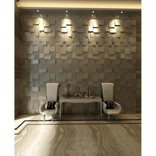 3D 'Cubes' Wall Panels (Set of 10)