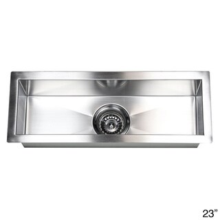Stainless Steel Undermount Kitchen Prep Bar Sink - Overstock ...