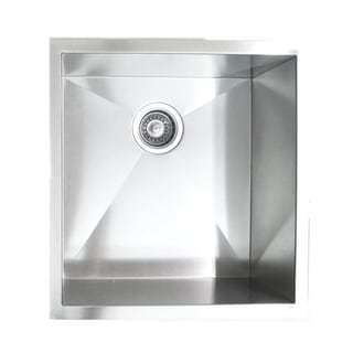 19-Inch Undermount Stainless Steel Kitchen Bar Sink