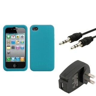 BasAcc Case/ Charger/ 3.5-mm Audio Cable for Apple� iPhone 4/ 4S