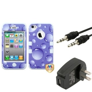 BasAcc Charger/ Audio Cable/ Horizontal Pouch for Apple iPhone 4S