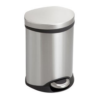 Step-On 1.5-Gallon Stainless Steel Medical Receptacle