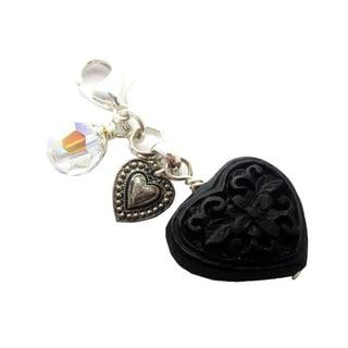 JonCar Fashion Forward Cinnabar Heart Charm