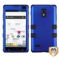 BasAcc Titanium Dark Blue/ Black TUFF Case for LG P769 Optimus L9