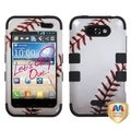 BasAcc Baseball-Sports Collection TUFF Case for LG Motion 4G LW770