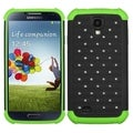 BasAcc Black/ Electric Green Lattice Case for Samsung Galaxy S4 i9500