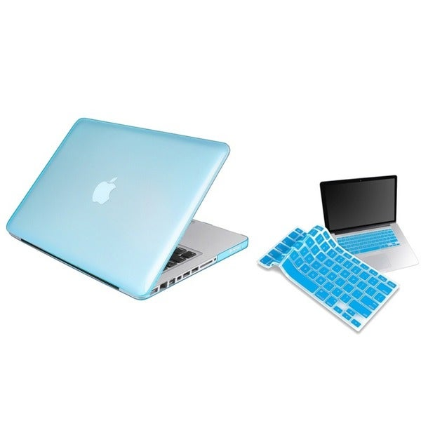 INSTEN Laptop Case Cover/ Keyboard Skin Shield for Apple MacBook Pro 13-inches