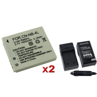 BasAcc Battery/ Charger for Canon SD430/ SD750/ SD780