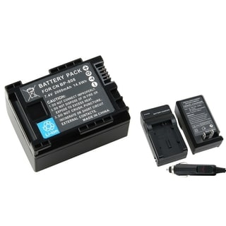 BasAcc Decoded Battery/ Charger for Canon BP-808/ FS10/ FS11/ FS100