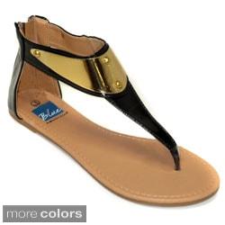 Blue Women's Glider Sandals