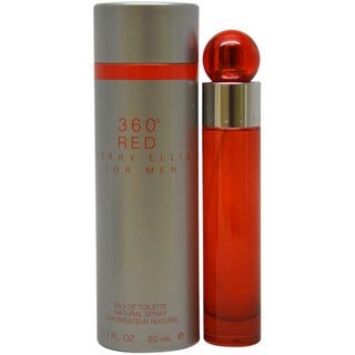 Perry Ellis '360 Red' Men's 1.7-ounce Eau de Toilette Spray