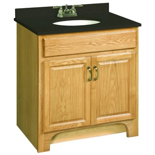 Design House Richland Nutmeg Oak 2-Door Vanity Cabinet