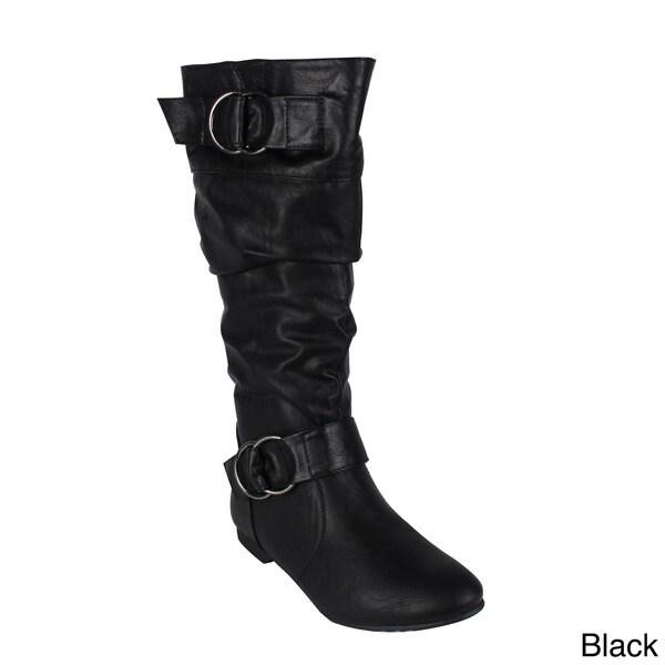 Reneeze 'ART-01' Women's Mid-calf Boots
