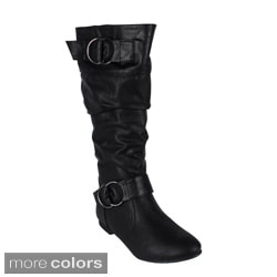 Reneeze 'ART-01' Women's Mid-calf Boots
