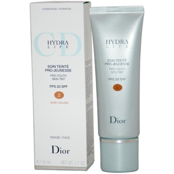 Dior Hydra Life Pro-Youth Skin Tint Golden Foundation SPF 20