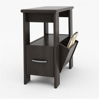 Ameriwood Resort Cherry Side Table