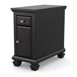 Ameriwood Black Side Table