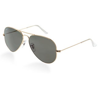 Ray-Ban RB3025 Arista Gold Large Aviator Sunglasses