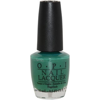 OPI Jade Is the New Black Green Nail Lacquer