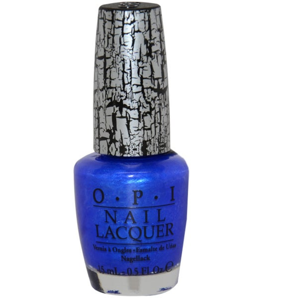 OPI Blue Shatter Nail Lacquer