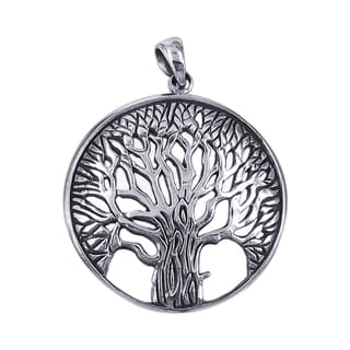Magnificent and Inspiring Tree of Life .925 Silver Pendant (Thailand)